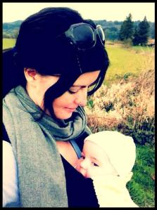 walking with baby j