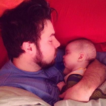 fatherhood is beautiful.