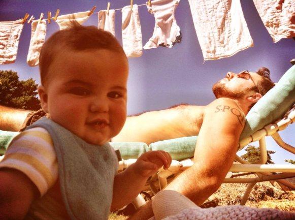baby diaper sun