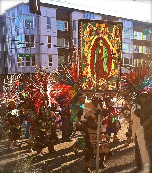 The feast of Our Lady of Guadalupe, Seattle.